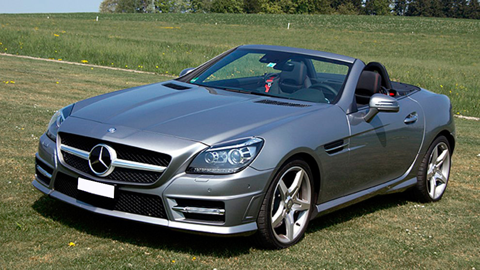 mercedes slk cabrio dlo interni in pelle auto e selle. Black Bedroom Furniture Sets. Home Design Ideas